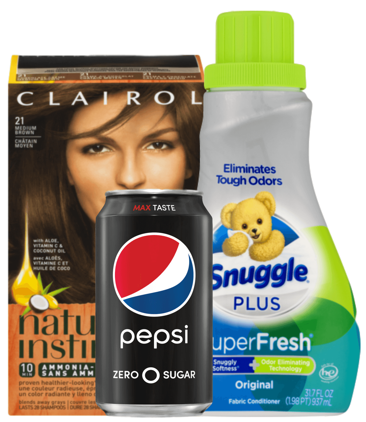 photograph about Snuggle Coupons Printable titled Todays Greatest Fresh Coupon codes - Preserve upon Snuggle, Pepsi, Clairol