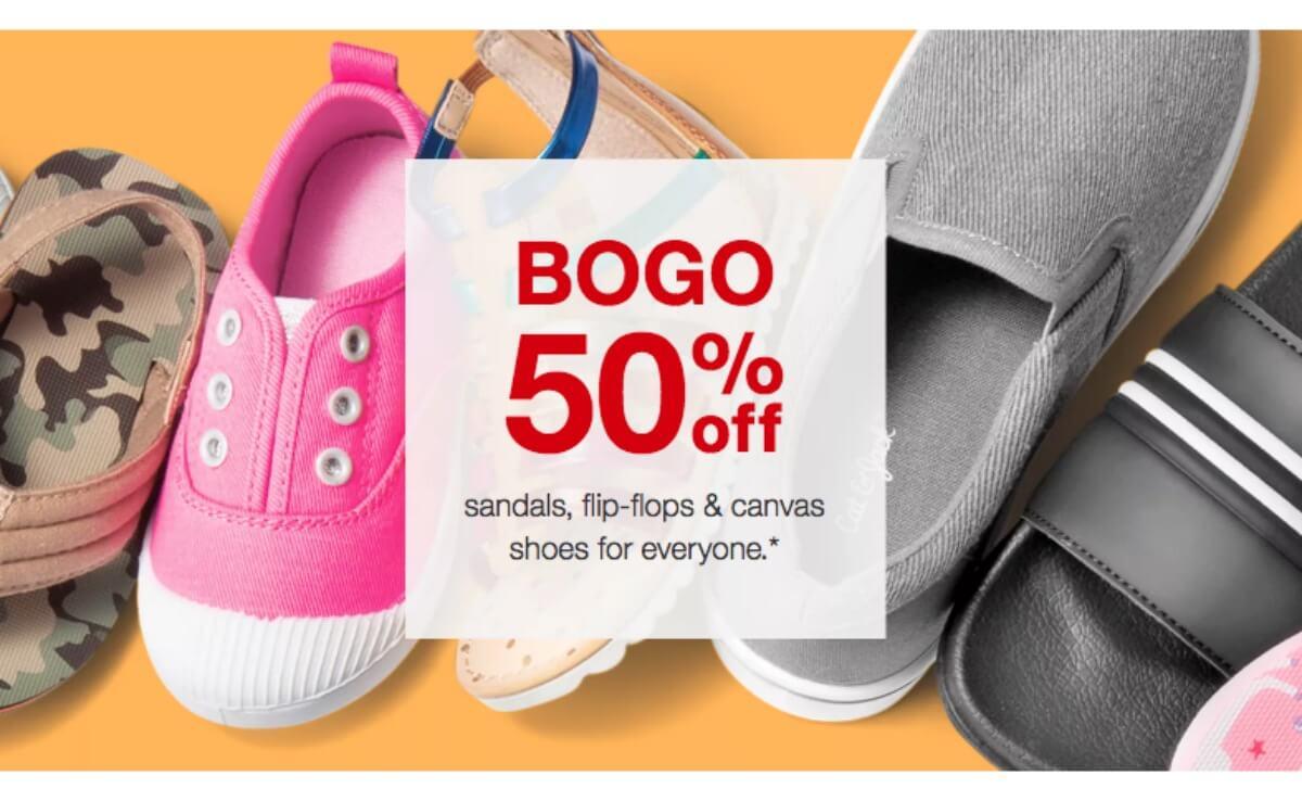 Off Sandals, Flip-Flops \u0026 Canvas Shoes