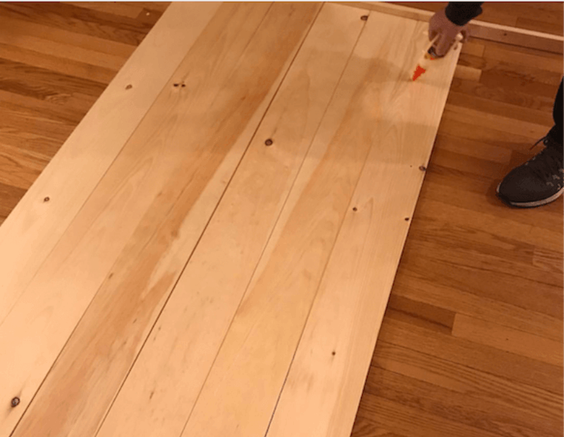 Diy Wood Folding Table Topper From Plastic Folding Table