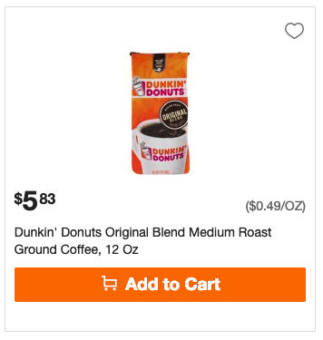 photo relating to Dunkin Donuts Coupons Printable titled Fresh new $1.25/1 Dunkin Donuts Espresso Merchandise Coupon - $0.75 at