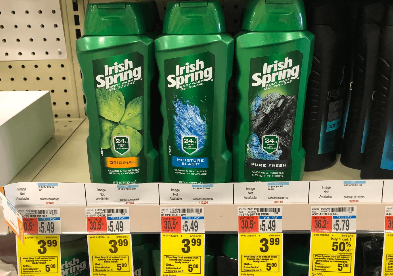 irish spring body wash printable coupon 2019