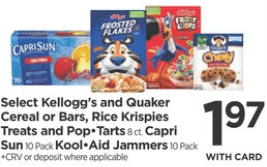 photo about Pop Tarts Coupon Printable called Contemporary $1/3 Kelloggs Pop-Tarts Toaster Pastries Coupon Offers
