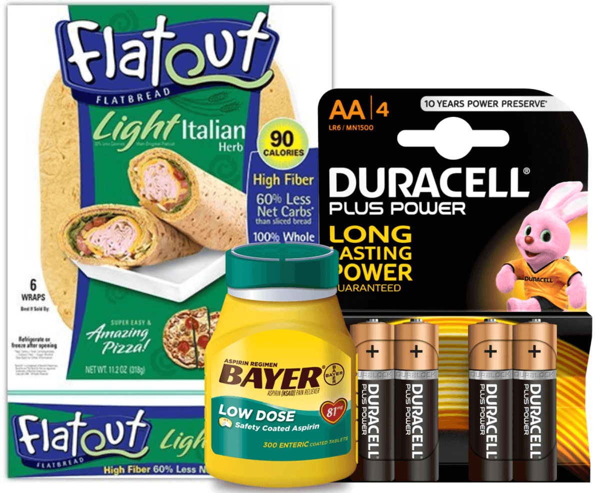 photo regarding Duracell Coupons Printable named Todays Ultimate Refreshing Coupon codes - Conserve upon Flatout, Bayer, Duracell