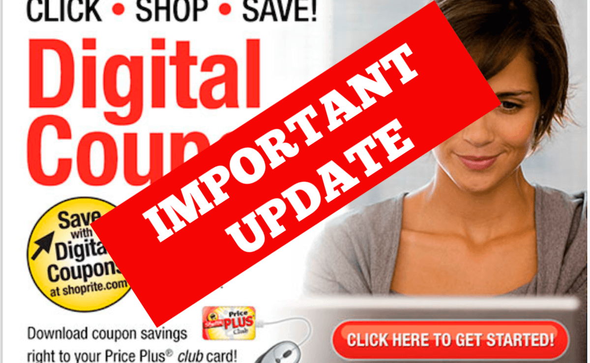 Shoprite Will Stop Stacking Digital Coupons Starting 5 5 Updated Living Rich With Coupons
