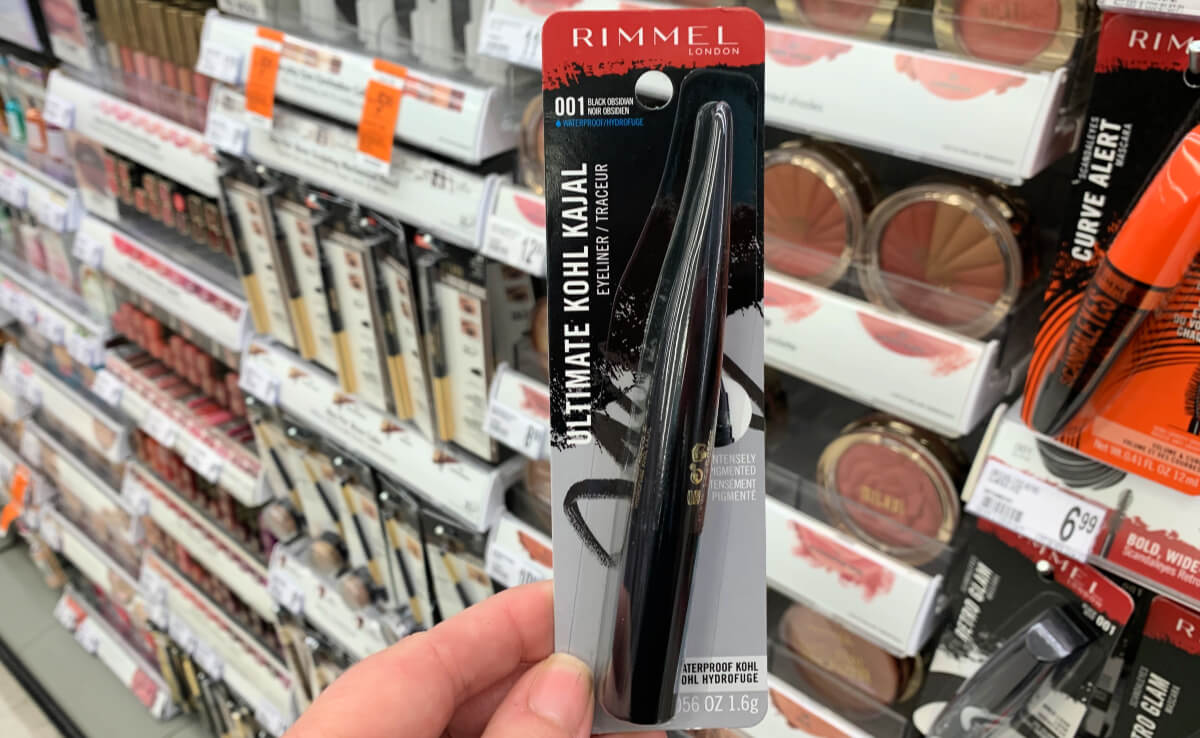 image relating to Rimmel Coupons Printable named $6 inside of Refreshing Rimmel Cosmetics Discount coupons - ScandalEyes Kajal