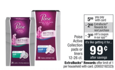 graphic relating to Poise $3.00 Printable Coupon identify Preserve $3 upon POISE Occupied Variety Pads and Liners - $0.99