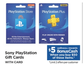 Rite Aid Shoppers Save Up To 10 On Playstation Gift Cards Living Rich With Coupons