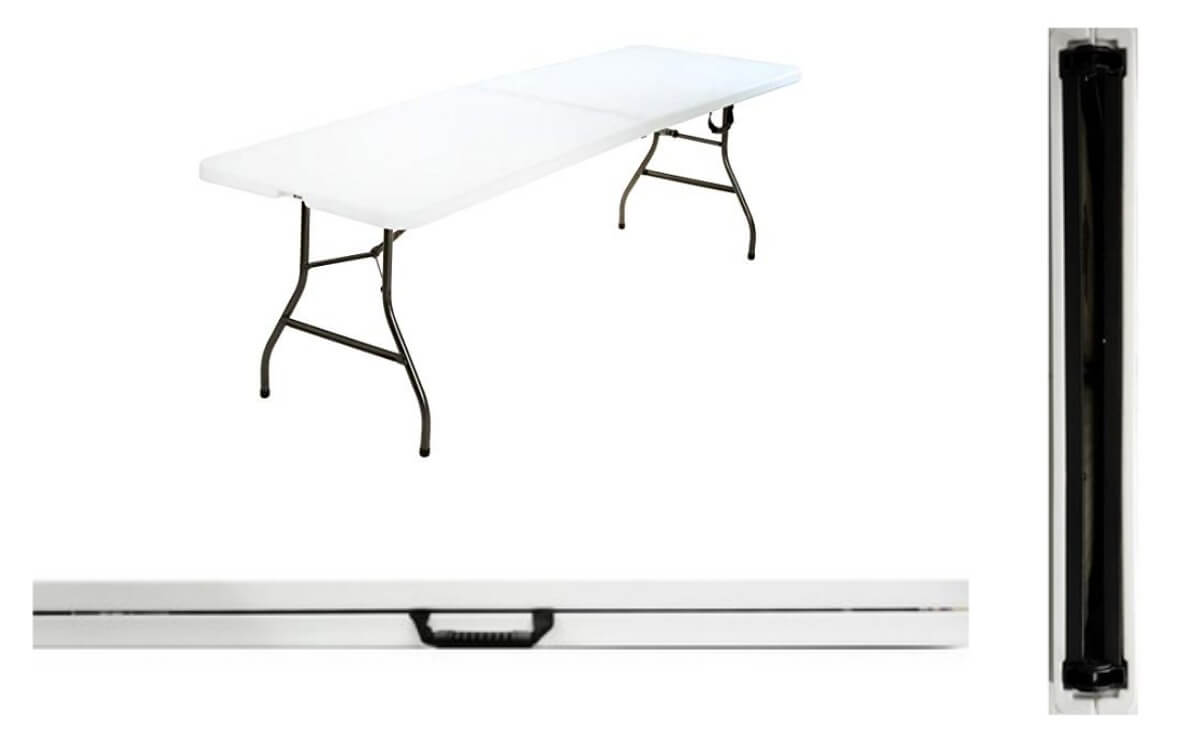 Cosco 8 Foot Centerfold Folding Table 65 Reg 125 Living