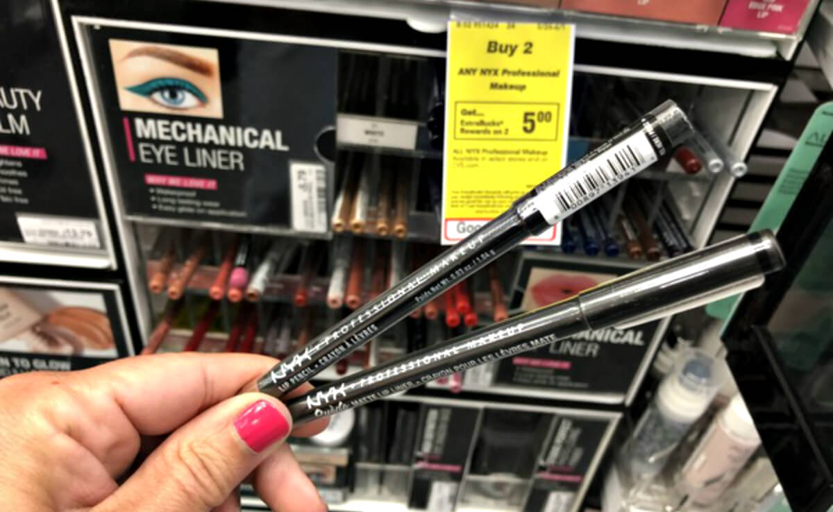photograph about Nyx Printable Coupon identified as NYX Well-informed Make-up as Minimal as No cost at CVS! Dwelling Prosperous