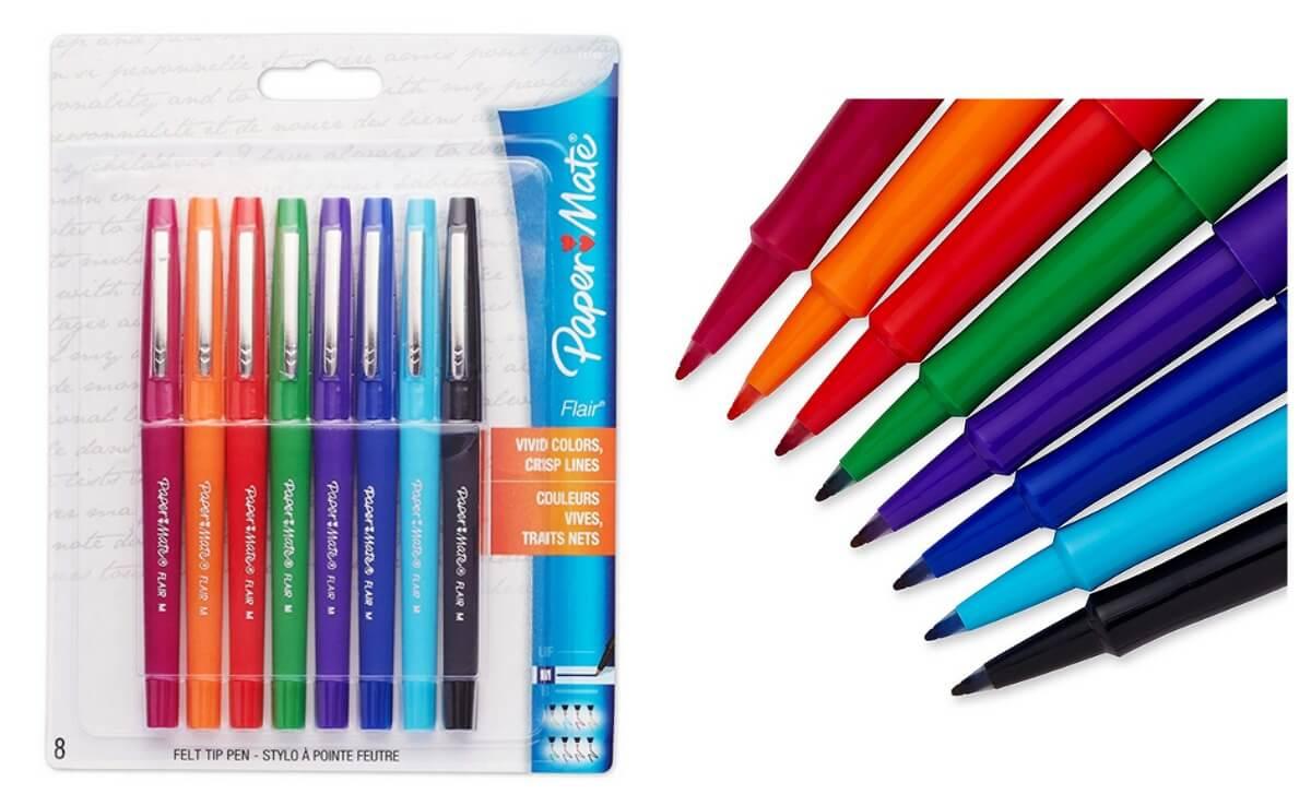 belle qualité très convoité gamme de économiser jusqu'à 60% Paper Mate Flair Porous-Point Felt Tip Pens 35% off on ...