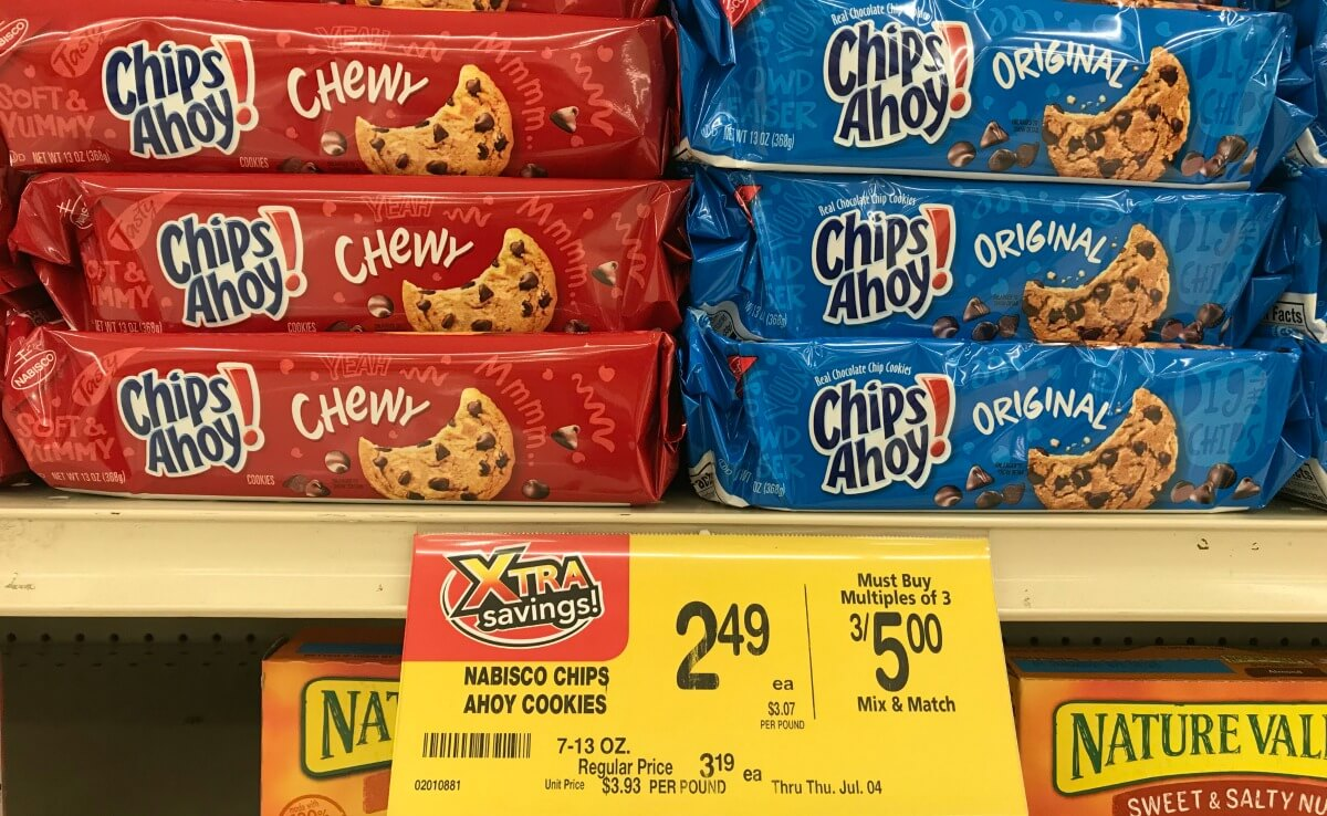photograph regarding Chips Ahoy Coupons Printable named Chips Ahoy Cookies Ritz Crackers Only $0.67 at Acme! No
