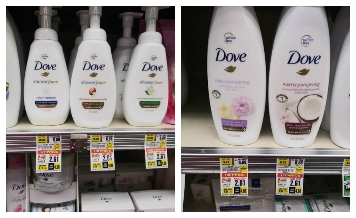 Dove Body Wash Foaming Body Wash Body Scrubs Just 2 61 At Shoprite Over 60 Off No Coupons Needed Living Rich With Coupons