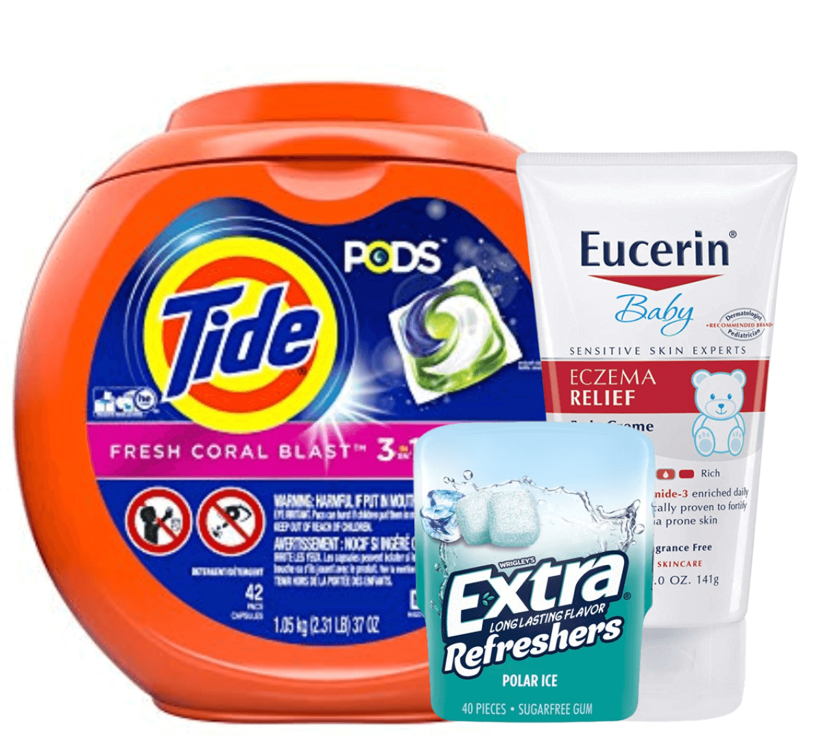 picture regarding Eucerin Printable Coupon named Todays Best Contemporary Discount codes - Preserve upon Tide, Eucerin, Puffs