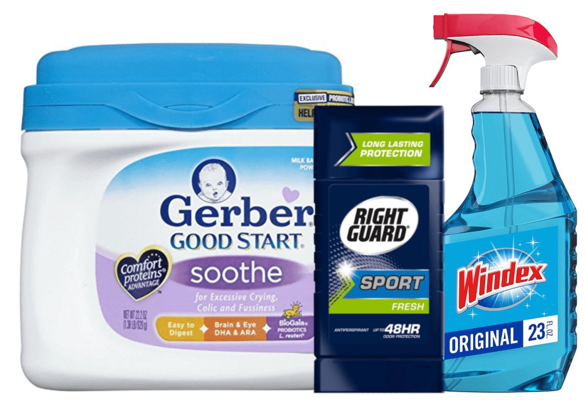 photo regarding Windex Printable Coupon identified as Todays Best Clean Discount coupons - Help save upon Windex, Gerber, Directly