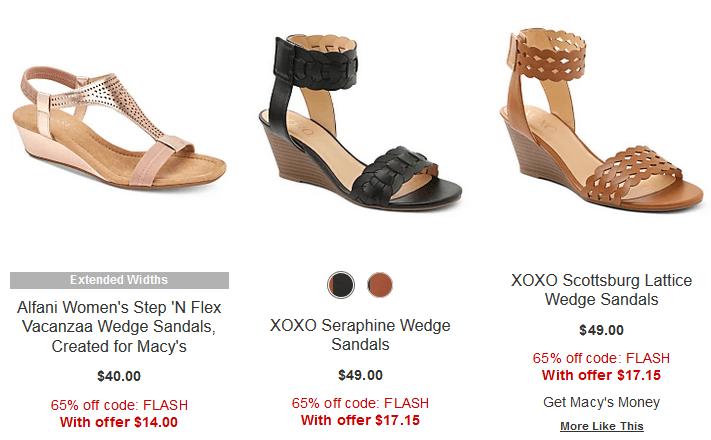 65-75% off Women's Shoes FLASH SALE