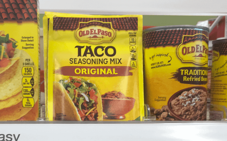 Walgreens Shoppers 0 75 Old El Paso Taco Seasoning Mix More Great Deals No Coupons Needed Living Rich With Coupons