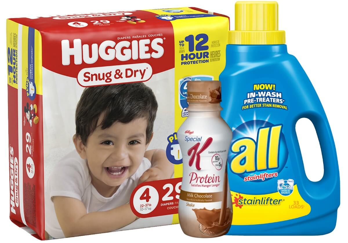 image about All Laundry Detergent Printable Coupons called Todays Final Refreshing Coupon codes - Preserve upon Huggies, Kelloggs, all