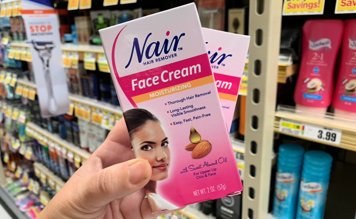 Save 1 On Nair Products 1 99 Face Cream At Rite Aid More