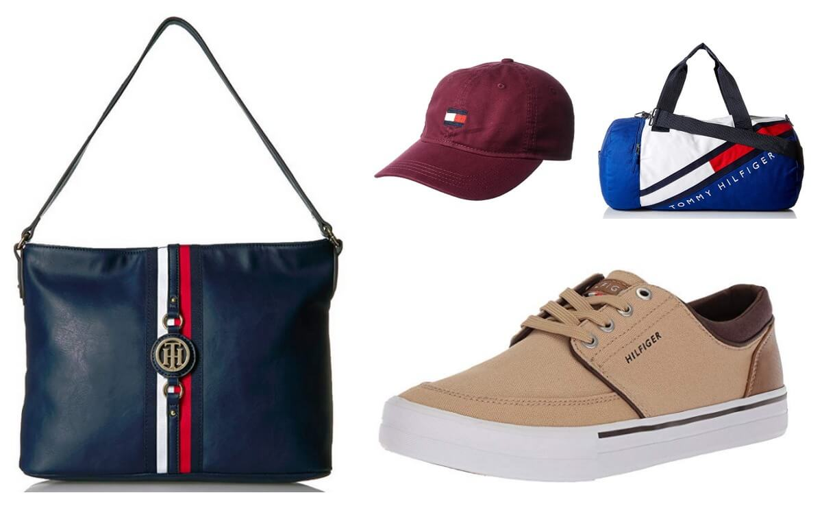 tommy hilfiger shoes and bags