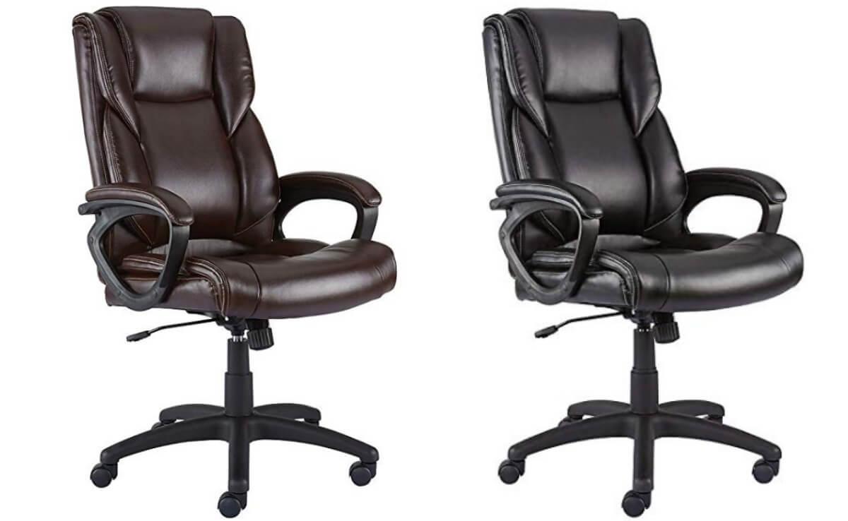 Staples Kelburne Luxura Office Chair $46.46 (Reg. $46.46) + Free