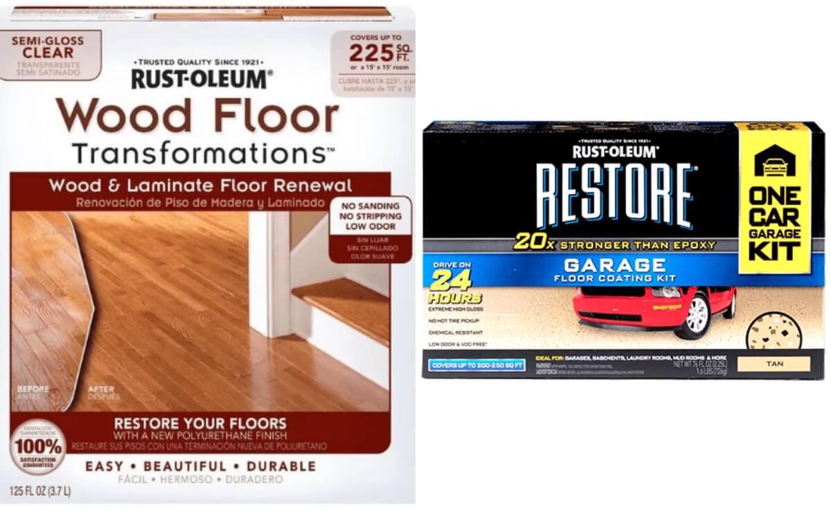 Rust Oleum Wood Floor Kit Or Garage Kit 1993 Reg 6997 Free