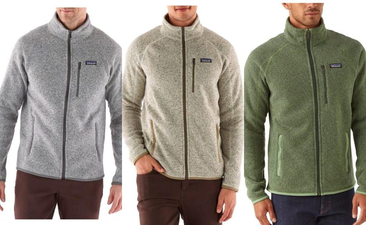 Patagonia Men's Better Sweater Fleece Jacket $68.93 (Reg