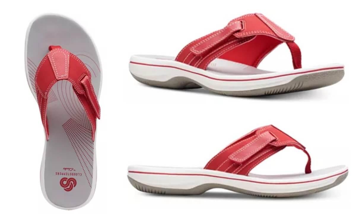 brinkley sail flip flops \u003e Clearance shop