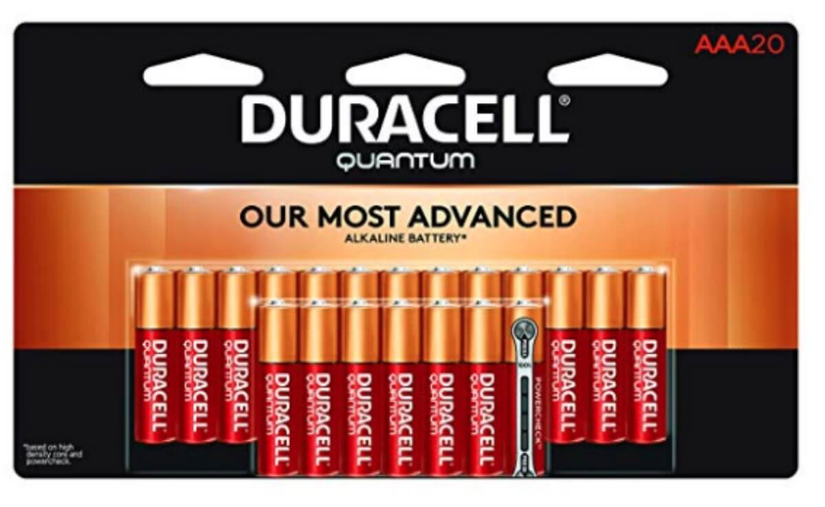 photo relating to Duracell Battery Coupons Printable identify 40% Off Duracell Quantum Alkaline Batteries, AAA 20 Pack