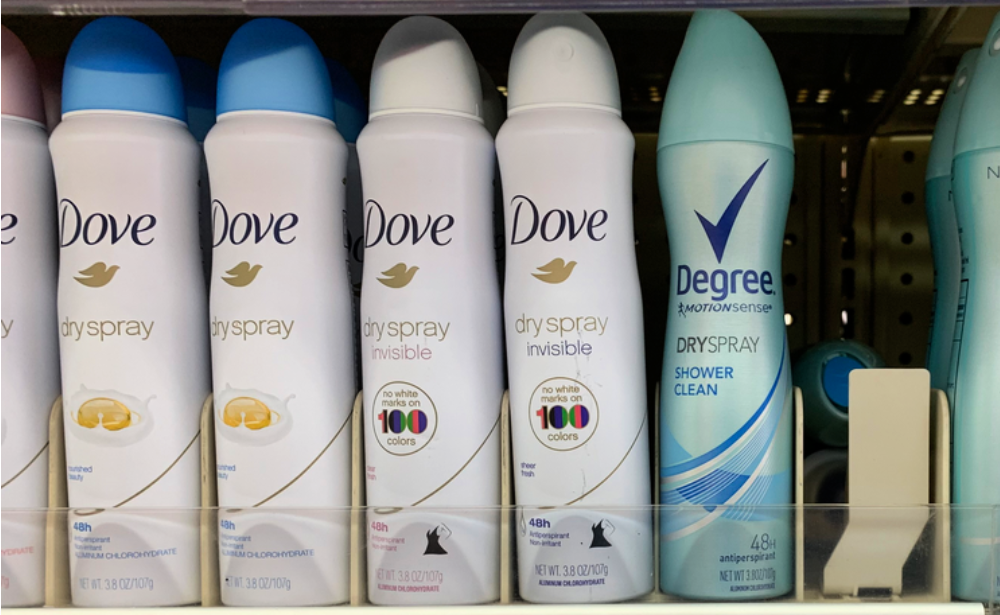 Dove Dry Spray Advanced Care Deodorant Just 2 57 At Walgreens Living Rich With Coupons
