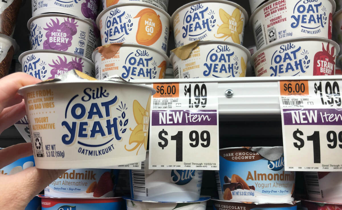 photograph regarding Printable Rebate named 2 Totally free Silk Oat Yeah Oatmilk Yogurts at Avert Retail outlet! Rebate