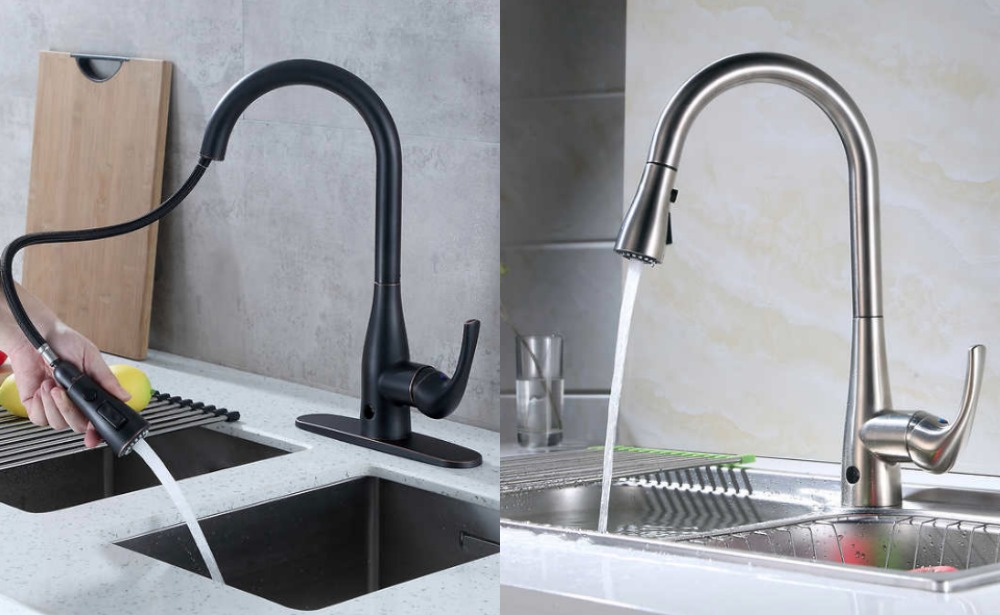Costco Motion Activated Single Handle Pull Down Sprayer Kitchen Faucet 99 99 Reg 159 99 Living Rich With Coupons