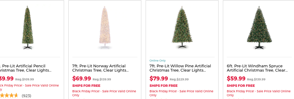 Black Friday Christmas Tree Deals 2019.Up To 60 Off Christmas Tree Event At Michaels Living Rich