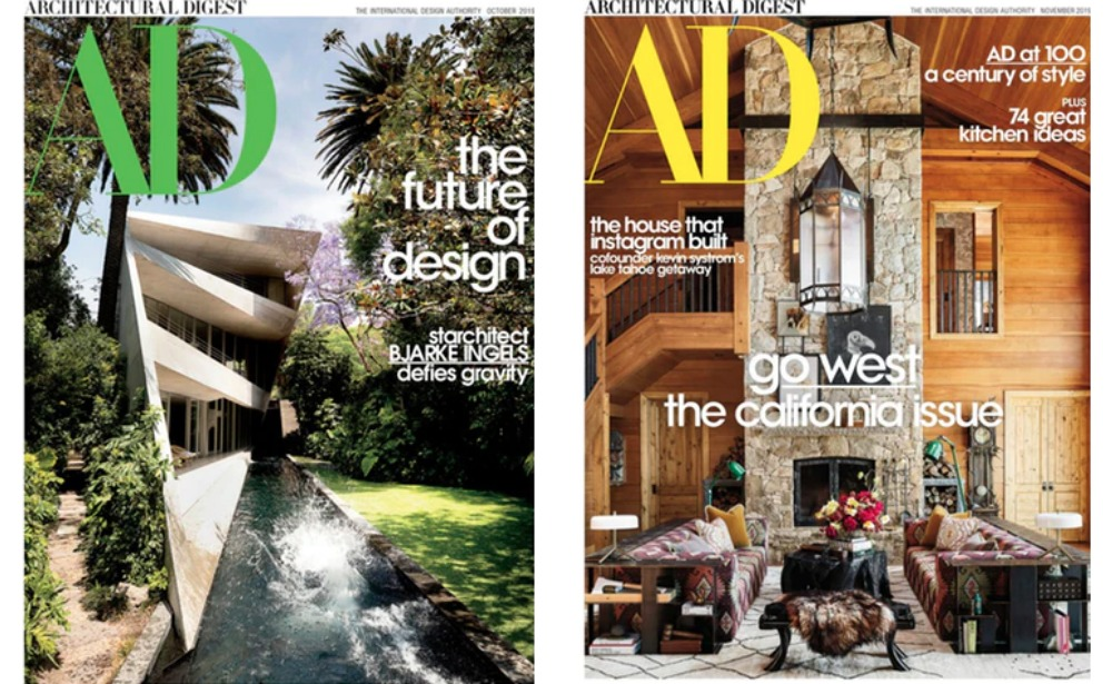 Architectural Digest Magazine For Just 4 50 Per Year Living