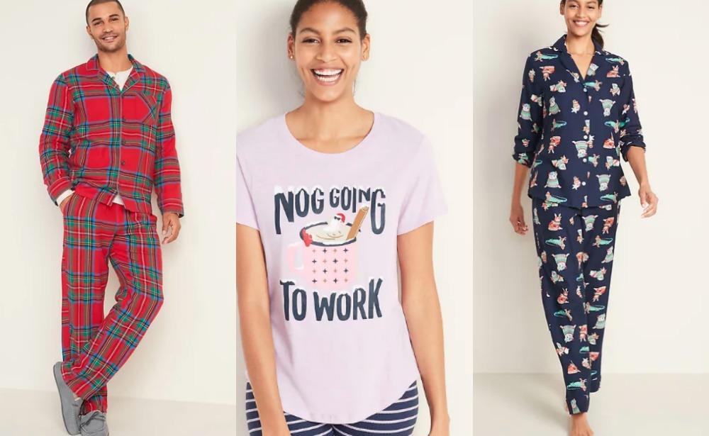 old navy pajamas sale