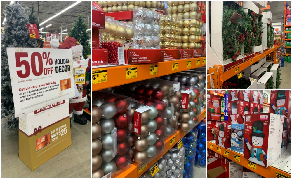 Up To 50 Off Christmas Clearance At Home Depotliving Rich