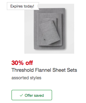 Threshold Flannel Sheet Sets At Target Starting At 13 68 Reg 23 Living Rich With Coupons