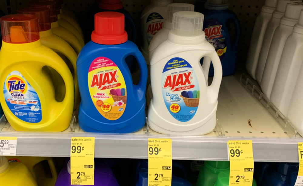 Ajax Laundry Detergent Just 0 99 At Walgreens No Coupons Needed Living Rich With Coupons