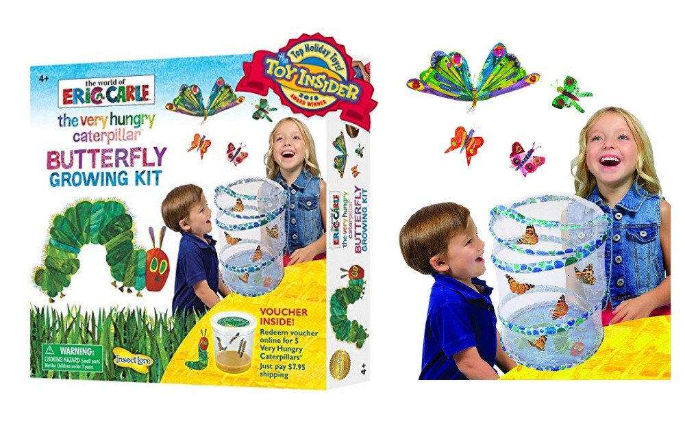 40 Off The Very Hungry Caterpillar Butterfly Growing Kit Amazon