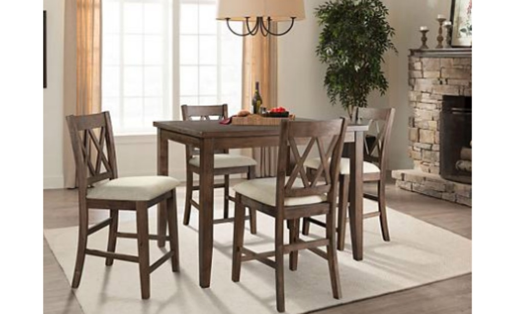 Sam S Club Members Oliver 5 Piece Counter Height Dining Set 199 Reg 499 Living Rich With Coupons