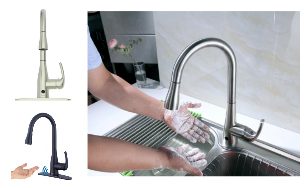 Up to 56% Off Motion Activated Kitchen Faucets + Free ...