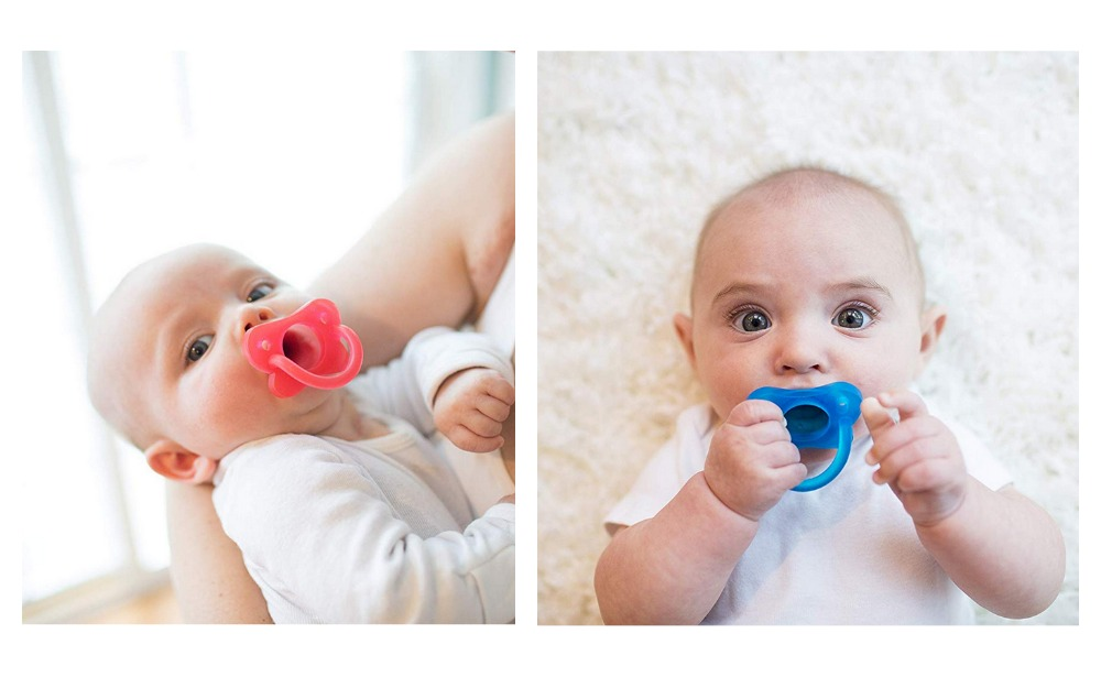 Brown's HappyPaci 100/% Silicone Pacifier Blue 3 Count 0m+ Dr