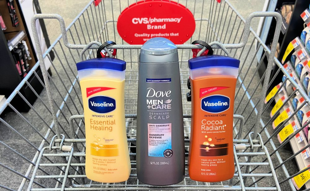 Dove Men Care Shampoo And Vaseline Body Lotion As Low As 0 32 At Cvs Living Rich With Coupons