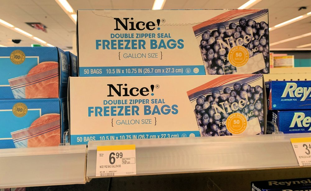 B1g2 Free 0 93 Nice Storage Freezer Sandwich Or Trash Bags At Walgreens No Coupons Needed Living Rich With Coupons