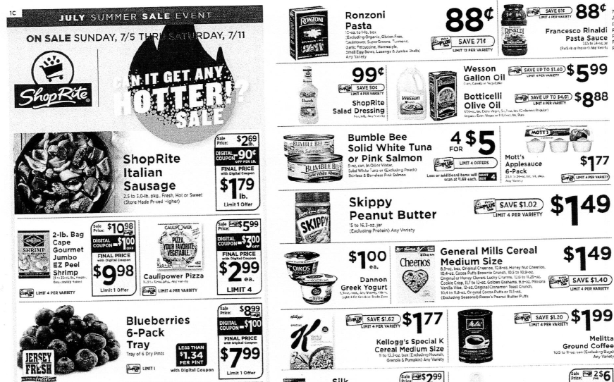 Shoprite Preview Ad For The Week Of 7 5 20 Living Rich With Coupons