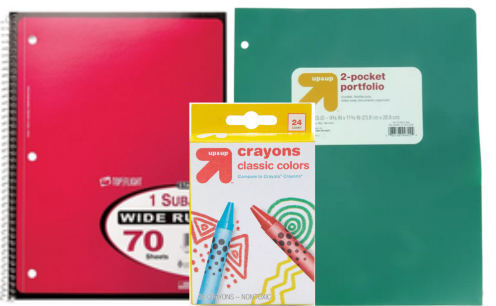 Back To School Deals At Target 0 25 1 Subject Notebooks 0 50 2 Pocket Folders More Living Rich With Coupons