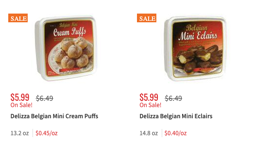 Save 1 50 On Delizza Patisserie Desserts Shoprite Deal Living Rich With Coupons