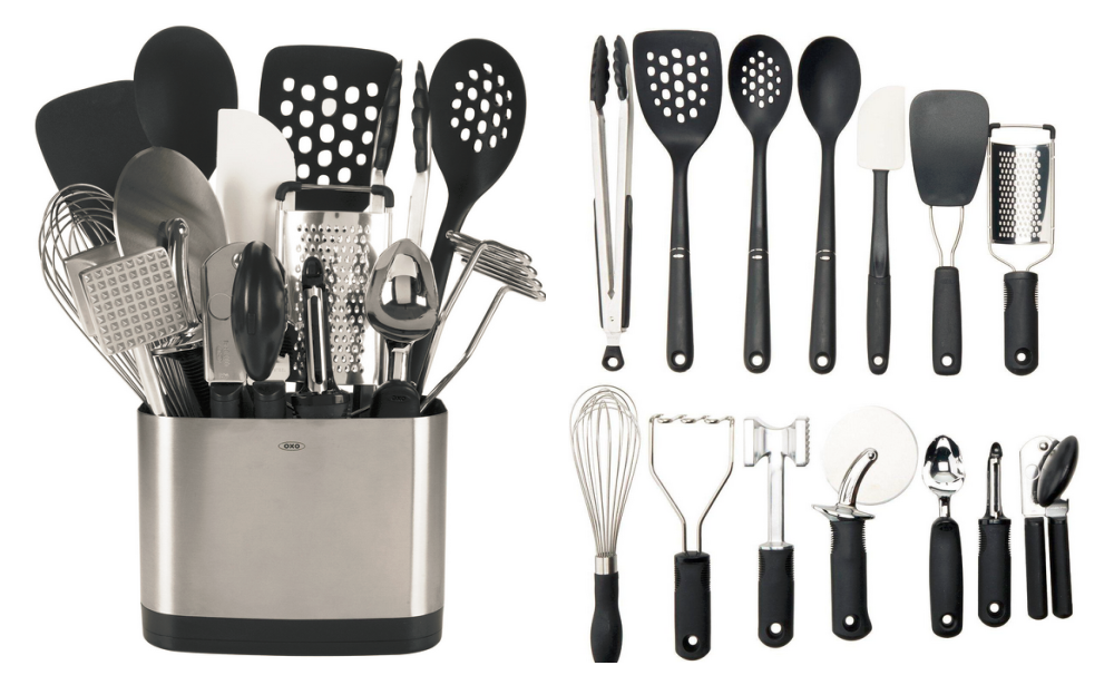 Oxo Good Grips 15 Piece Everyday Kitchen Tool Set Only 71 99 Shipped Reg 89 99 At Home Depot Living Rich With Coupons