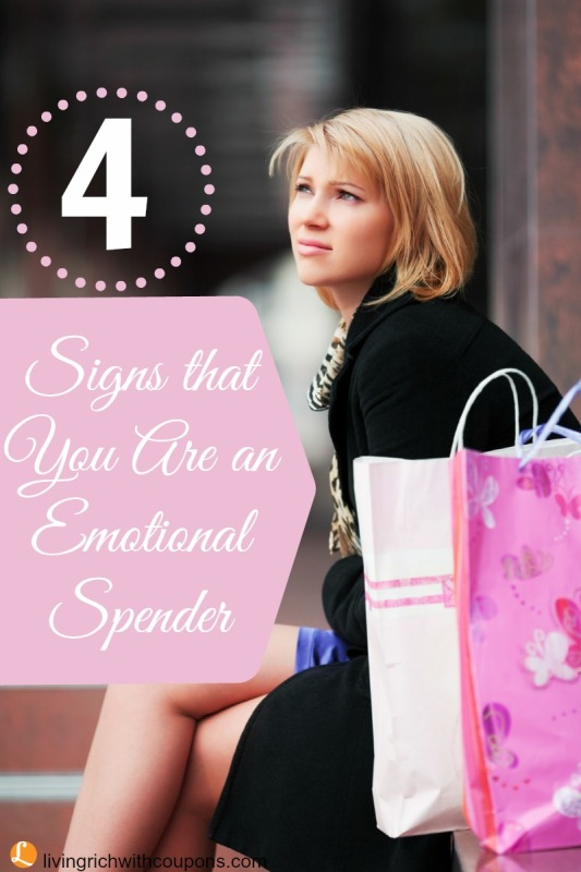 4 Signs That You Are An Emotional Spender