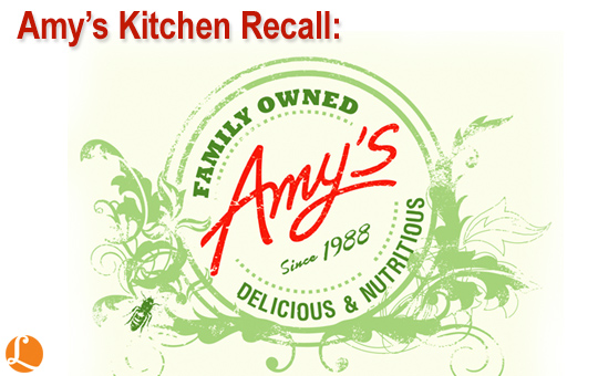 Amy's Kitchen Recall 3-23-2015