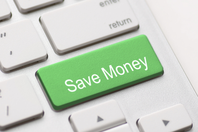 Save Money button key